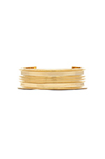 Contemporary Cuff in Gold