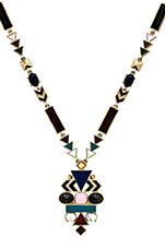 Eden's Pendant Necklace in Multi