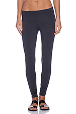 Legging in Heather Black
