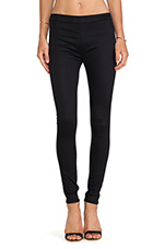Evelyn High Rise Super Skinny in Black Knight