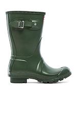 Original Short Rain Boot in Hunter Green