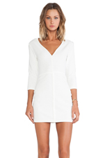 I'm From LA Dress in White