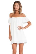 Cool Kicks Dress in White