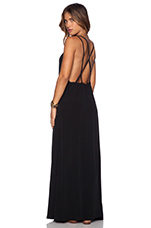 Barefoot Maxi Dress in Black