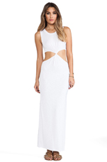 Zombie Cutout Maxi in White