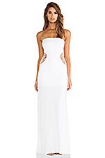 X REVOLVE Grasshopper Maxi Dress in White