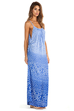 X REVOLVE Robin Maxi Dress in India Cobalt