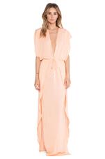 Jade Maxi Dress in Peach