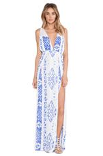 X REVOLVE Isla Maxi Dress in Borneo Violet