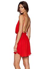 Tahani Mini Dress in Red