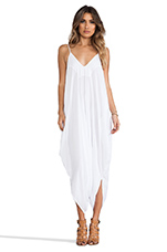 Ivory 2 Low Back Harem Jumpsuit in White