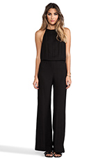 Tang Open Back Jumpsuit in Black