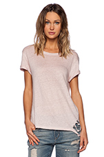 Poppy Tee in Old Pink