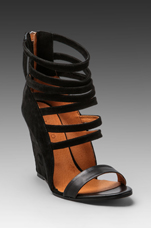 Mirlind Sandal in Noir