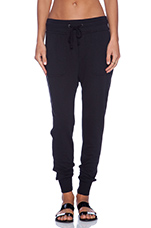 Slouchy Sweatpant in Black