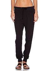 Thermal Sweatpant in Black
