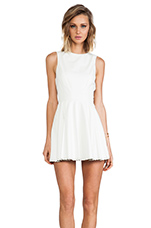 Jemi Dress in Ivory