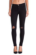 Super Skinny Jean in Blackout