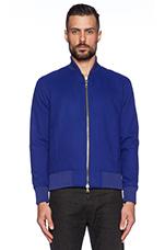 Teddy Jacket in Blue