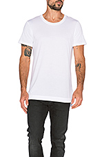 Mercer Tee in White