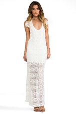 Freedom Maxi Dress in OG Lace