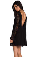 Sandalwood Tunic Dress in Black