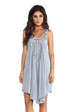 Lily off the Nile Dress in Haze Grey