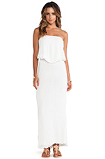 Brazilian Backless Dress in White