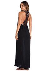 African Violet Dress in Black