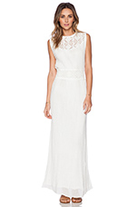 Bolinas Gown in White
