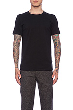 Axtell Crew Allround Jersey Tee in Black