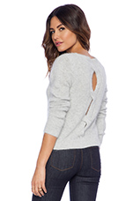Daisey Cullum Sweater in Carbon Grey