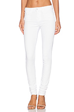 Play Dirty Stay Spotless Mid Rise Skinny in Annie