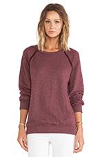 Maebe Sweatshirt in Heather Red Sea