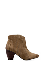 Sandy Ankle Bootie in Taupe