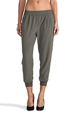 Mariner Cropped Pant in Fatigue