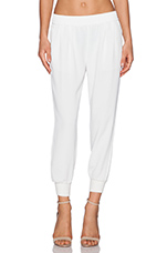 Mariner Crop Pant in Porcelain