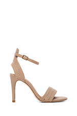 Trune Heel in Dusty Pink Sand