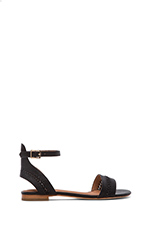 Lorenzo Sandal in Black