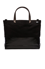 Dipped Coal Bag in Black/Black