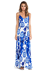 Zeila Maxi Dress in Calico
