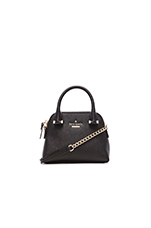 Mini Maise Crossbody Bag in Black
