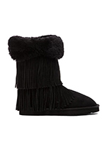 Haley II Boot with Fur in Black