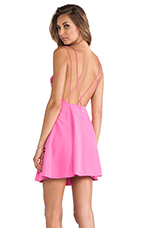 Be My Escape Dress in Candy Pink