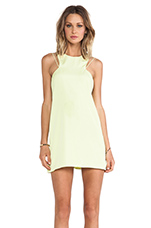 Countdown Tank Dress in Lime