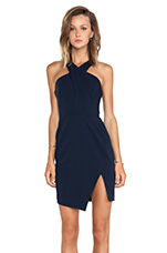 Motionless Dress in Navy