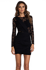 Just a Memory Long Sleeve Dress in Black