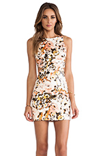 Party Monster Cut-out Dresses in Peach