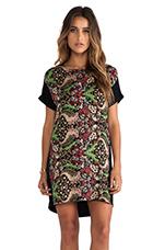 Meadowlark Dress in Black Multi