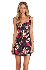 Joni Floral Dress in Multi
